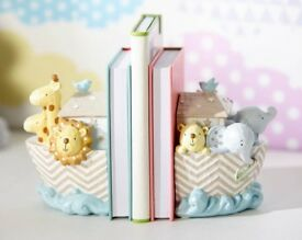 Noah'S Ark Set Of 2 Bookends