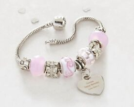 Candy Pink Heart Charm (NEW)