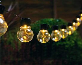 LED 10 Bulb String Lights (NEW)