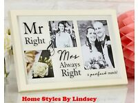 Always Right Photo Collage Frame