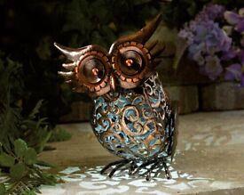 Freestanding Solar Owl