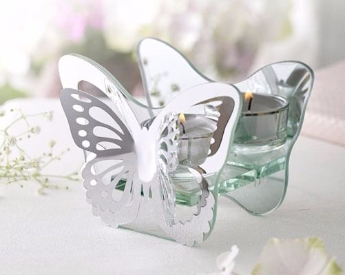 Butterfly Shape Tealight Holderin Maidstone, KentGumtree - This would make a lovely gift. Mirrored glass butterfly tealight holder. H9 x W12 x D6cm. Collection Allington, Maidstone