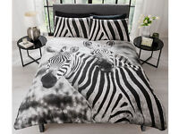 Brand New Zebra double bed set