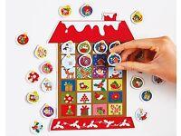 Magnetic House Advent Calendar