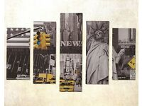 5-Piece New York Canvas