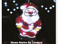 LED Santa Window Light Decoration
