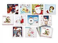 Bumper Pack Of Cute Christmas Cards