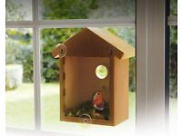 Window Nesting Box --PERFECT FOR WATCHING BIRDS UP CLOSE