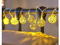 Moroccan Style String Lights