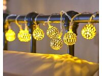 Moroccan Ball Lights