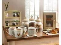 Country style diningware