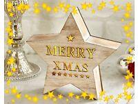 Woodlands Star Merry Christmas Box