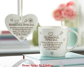 Someone Special Mug and Hanging Plaque Set