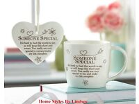 Someone Special Mug and Hanging Plaque Set