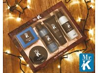 Brand New Mr K. Toiletries great present for Christmas