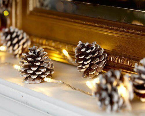 WOODLAND LED CHRISTMAS CONES (New)