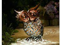 Free Standing Garden Owl
