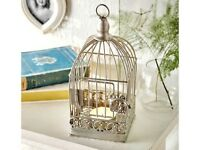 VINTAGE STYLE Bird Cage Tealight Holder