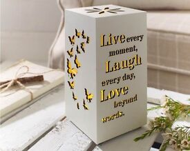 Live Laugh Love Butterfly Box Light (NEW)