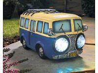 Solar headlights campervan