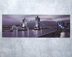 LED London Canvas (H30 x W90cm)