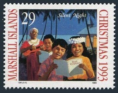 Marshall 576 two stamps, MNH.Michel 493. Christmas 1993.