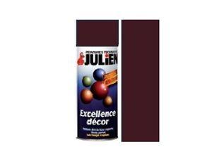 Bombe peinture marron brun chataigne brillant ral 8016 - Bombe de peinture julien ...