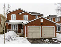 Single detached home in Orleans!!