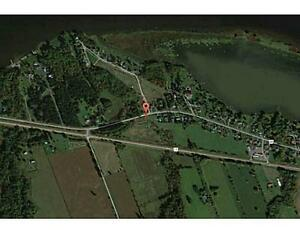 Waterfront acreage ideal to build a dream home in Wendover!