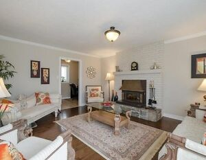 Gorgeous 4 br Bungalow on sprawling property for rent in Milton