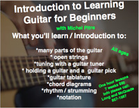 Guitar class with Michel Pitre at Long and McQuade Moncton
