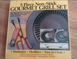 Non-Stick Gourmet Grill Set