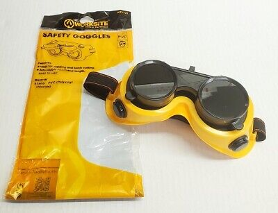 Professional Safety Goggles Welding Glasses Polyvinyl Chloride Lens Anti Glare