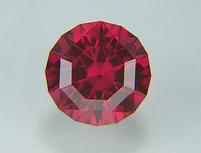 Ruby. Lab Grown. Modify Round Barion.10 mm. 6.50cts Precision Cutting.....