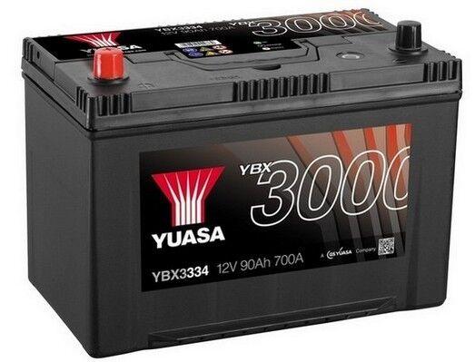 Kia Sorento, Mitsubishi Shogun, Toyota Hi-Ace YUASA Car Battery YBX3334