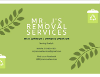 Yard waste/Junk Removal, Gutter cleaning and more