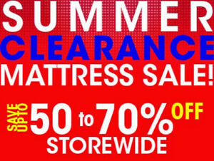 Truck Load Mattress Sale! Save up to 70% OFF