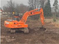 Garden and digger hire