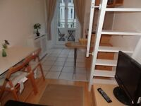 Earl's Court: Fabulous Newly Refurbished Studio Flat. Internet and Utility Bills Included