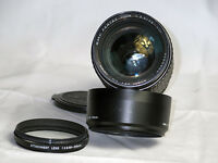 Pentax K 85-210mm 3.5 avec sa lentille close-up