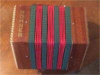 Antique Rare Hohner Anglo concertina C/G full working order