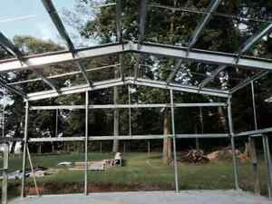 steel building for storage,garages and work shops Cornwall Ontario image 2