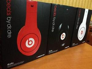 BEATS STUDIO , HEADPHONES WHITE OR RED SEALED BOXES