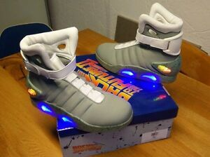 Back To The Future LED light up shoes