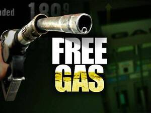 Free tank of gas