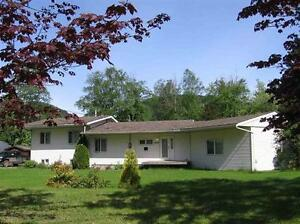 Skeena River Waterfront 3 Bedroom Home!