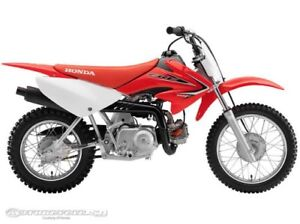 Wanted to buy honda crf70 or xr70