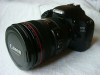 Cannon EOS 550D body, 2 lenses, battery charger