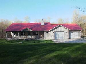 1005 P Line St Joseph Island - Custom Built Home on 100 Acres
