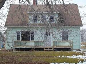 Just listed 4 bedroom home with river backage, and 3.83 acres